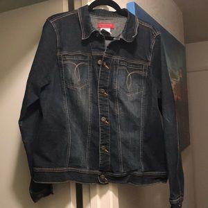 2x Paris Blue Jean Jacket EUC purchase @ Torrid